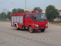 Jiangte JDF5072GXFSG20/E fire tank truck