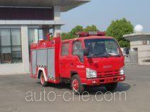 Jiangte JDF5072GXFSG20C fire tank truck