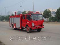 Jiangte JDF5102GXFSG30 fire tank truck
