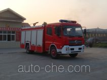 Jiangte JDF5150GXFPM60T foam fire engine