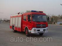Jiangte JDF5150GXFSG60T fire tank truck