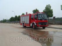Jiangte JDF5152GXFPM60/A foam fire engine