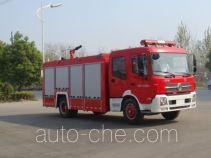Jiangte JDF5161GXFPM70B foam fire engine