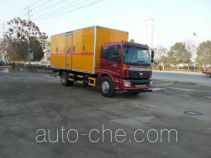 Jiangte JDF5162XRYBJ4 flammable liquid transport van truck