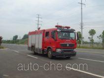 Jiangte JDF5163GXFSG50 fire tank truck