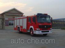 Jiangte JDF5190GXFSG70Z fire tank truck