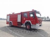 Jiangte JDF5203GXFSG80 fire tank truck