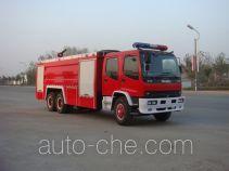 Jiangte JDF5240GXFPM110W foam fire engine