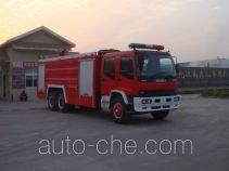 Jiangte JDF5240GXFSG110W fire tank truck