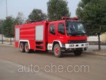Jiangte JDF5252GXFPM110 foam fire engine