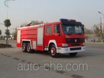 Jiangte JDF5280GXFPM120Z foam fire engine