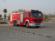 Jiangte JDF5280GXFSG120Z fire tank truck