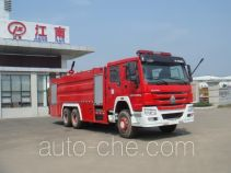 Jiangte JDF5313GXFPM160 foam fire engine