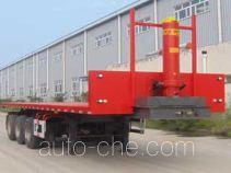 Jidong Julong JDL9401ZZXP flatbed dump trailer