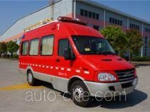 Haidun JDX5040XXFTZ1000 штабной пожарный автомобиль связи