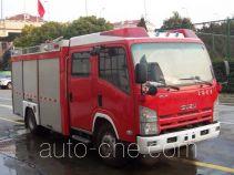 Haidun JDX5100GXFAP21 class A foam fire engine