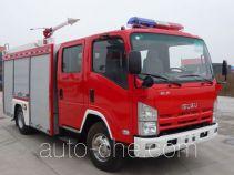 Haidun JDX5100GXFPM35 foam fire engine