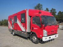 Haidun JDX5100TXFGQ35 пожарный автомобиль газового пожаротушения