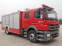 金盛盾牌JDX5120TXFHJ100/B型化学事故抢险救援消防车