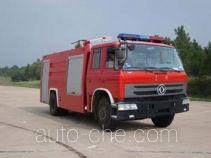 Haidun JDX5140GXFPM55S foam fire engine