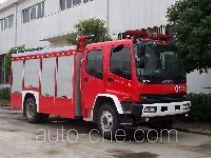 Haidun JDX5150GXFPM50 foam fire engine
