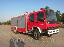 Jinshengdun JDX5150GXFSG60 fire tank truck