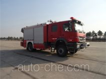 Haidun JDX5150TXFJY100/B fire rescue vehicle