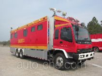 海盾牌JDX5170XXFTZ1800型通讯指挥消防车