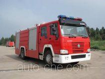 Haidun JDX5190GXFPM80S foam fire engine
