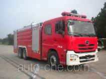 Jinshengdun JDX5280GXFSG120/U fire tank truck