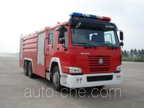 Haidun JDX5310GXFPM160 foam fire engine