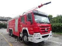 Jinshengdun JDX5310JXFJP20 high lift pump fire engine
