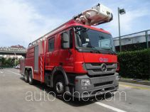 Jinshengdun JDX5310JXFJP32 high lift pump fire engine