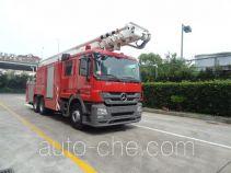 金盛盾牌JDX5320JXFJP43型举高喷射消防车