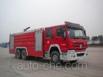 Jinshengdun JDX5330GXFPM180/H foam fire engine