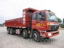 骏通牌JF3310A436QU83型自卸汽车