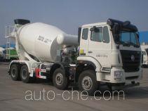 骏通牌JF5316GJB306ZJ型混凝土搅拌运输车