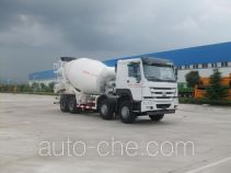 骏通牌JF5316GJB366ZZ型混凝土搅拌运输车