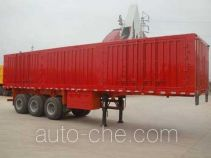 Juntong JF9280XXY box body van trailer