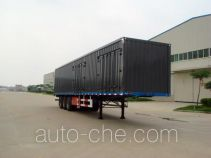 Juntong JF9400XXY box body van trailer