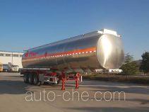 Juntong JF9406GRY flammable liquid aluminum tank trailer