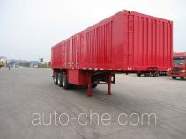 Juntong JF9401XXY box body van trailer