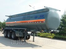 Juntong JF9402GFW corrosive materials transport tank trailer