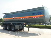 Juntong JF9403GFW corrosive materials transport tank trailer