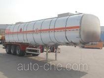 骏通牌JF9403GRYB型铝合金易燃液体罐式运输半挂车