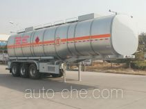 Juntong JF9407GRYB flammable liquid aluminum tank trailer