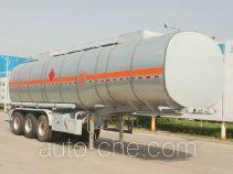 Juntong JF9408GRYB flammable liquid aluminum tank trailer