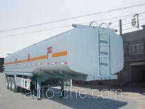 金华飞顺牌JFS9400GHY型化工液体运输半挂车