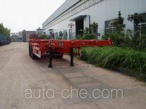 金华飞顺牌JFS9400TJZG型集装箱运输半挂车