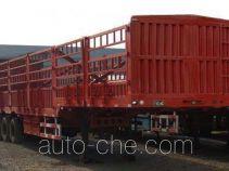 金华飞顺牌JFS9401CCY型仓栅式运输半挂车